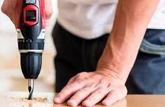 dril on floor
