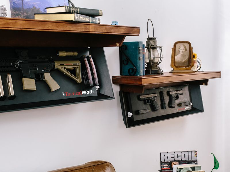 how to hide gun safe in plain sight