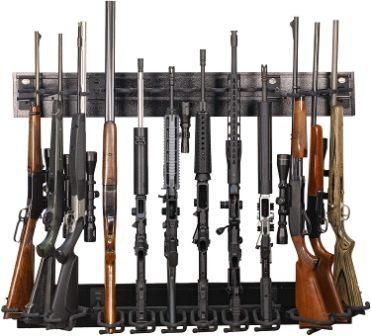 gun racks for gun safe room