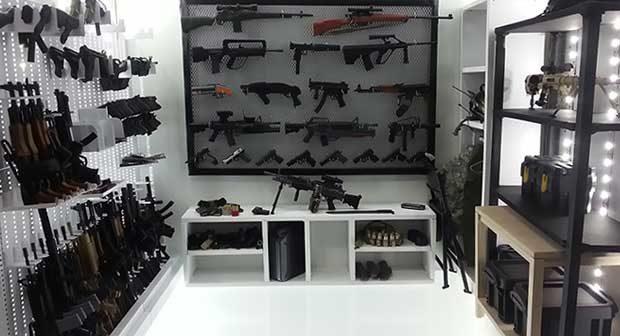 how to build gun safe room