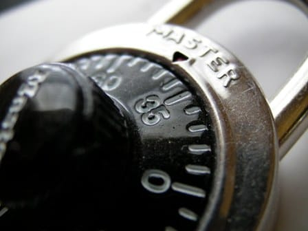 combination lock sentinel
