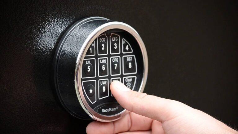 How to open lock gun safe